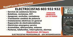 Electricistas Alfafar 603 932 932