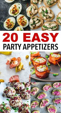 Easy Cocktail Party Appetizers - - Easy Cocktail Party Appetizers meze Holiday cocktail party season is just around the corner. Make your prep that much easier with one of these easy, fast, make-ahead cocktail party appetizers and hors d'oeuvres! Christmas Cocktail Party Appetizers, Summer Party Appetizers, Cocktail Party Food, Fingerfood Party, Appetizers For A Crowd, Snacks Für Party, Appetizer Recipes, Easy Make Ahead Appetizers, Heavy Appetizers