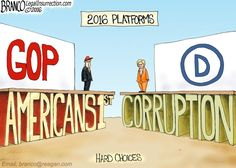 Two Very Different Platforms By A.F. Branco July 22, 2016