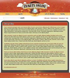 Tickets Online Website Templates by Matrix Animate Css, Tickets Online, Family Search, Website Template, Templates, Grief, Stencils, Western Food