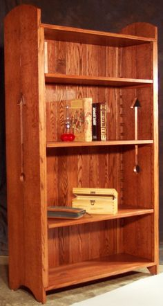 Mission Style Bookcase
