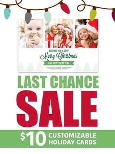 Last Minute Holiday Card Sale!! There is still time left! Go to GeekHouse Studio's Etsy Page to get your cards today!