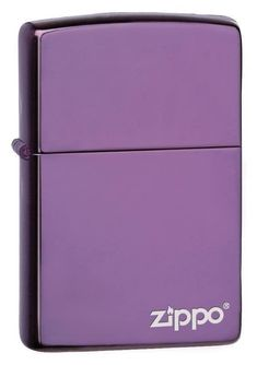 The Classic Abyss Zippo Logo lighter is windproof and works virtually anywhere. It has an all metal construction and a hinged lid. As with all Zippo Lighters, i Environmentally Friendly Gifts, Cool Lighters, Purple Interior, Lighter Fluid, Barrel Hinges, Pocket Light, Zippo Lighter, Cool Tones, Purple