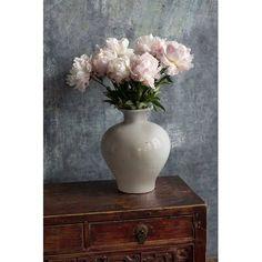 Charlton Home Toomsboro Glazed Table Vase Best Bathroom Paint Colors, Small Acorns, Tiny Powder Rooms, White Mushrooms, White Vases, Vases Decor, Vintage Ceramic, Contemporary Furniture, Stuffed Mushrooms