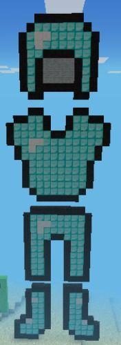 Minecraft - Diamond Armor Build♢ #Video_Games #Gamer #Gaming