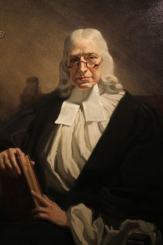 John Wesley. painted by Frank O Salisbury in 1932