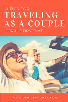 8 Tips for Traveling as a Couple for the First Time