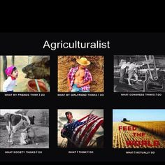 Agriculture.
