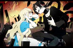 anime couple   kagerou days   kagerou project   kuroha   love   mary   vocaloid