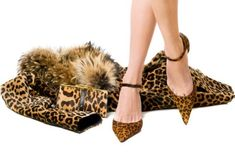 Leopard Shoes and Accessories - how to wear statement shoes