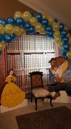 Beauty and the Beast 5th Birthday Party