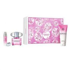 Versace Bright Crystal 3 Piece Gift Set for woman