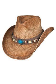 ec2f8da70ebbc Bullhide Forbidden Treasure Raffia Straw Cowboy Hat  summer  beach   vacation Western Hats