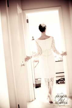 chic wedding dress!