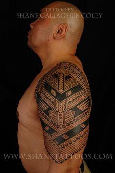 SHANE TATTOOS: Samoan