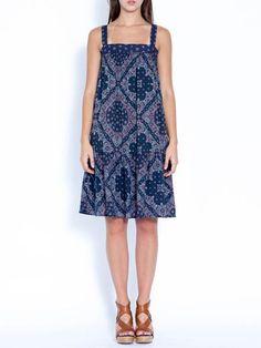 Wren - Bandana Tiered Dress