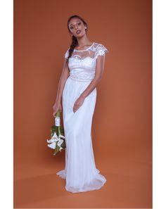 A192. Vestido de Noiva Flower by Chai  #beachwedding #bohemianwedding #bohobride #bohodress #Brasil #bride #bridestyle #campo #casamento #handmade #instabride #instanoiva #lacedress #noiva #noivado #noivei #noivinha #noivos #oamoresimples #simples #sounoiva #vestido #vestidodenoiva #vestidoprincesa #wedding #weddingdress #transparência #renda #noivanegra #negra #cacheada #crespa #noivaismples #online #aliexpress #ecommercenoiva #vestidocommanga #casamentosimples