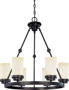 Mid. Chandeliers-Pillar Candle