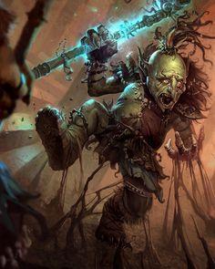 Fantasy Art Featuring Blackvolta Studio artist Nestor Ossandon, Fantasy Creatures