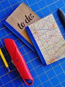 Paper Bag Notebook diy