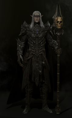 ArtStation - The Elder Scrolls Online - Mannimarco Fanart, ansdj kim