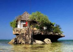 RAD! - The Rock Restaurant - Zanzibar, Tanzania | 20 Bars To Drink In Before You Die