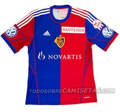 FC BASEL 2013/14 Adidas Football, Football Jerseys, Fc Basel, Football Kits, Sports Shirts, Football Fashion, Soccer Jerseys, Soccer Outfits, Soccer Kits