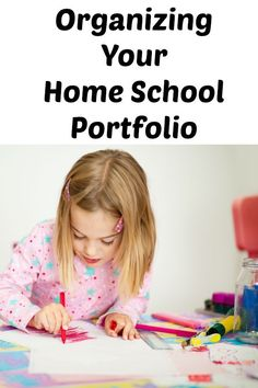 While not everyone homeschools, we feel this week of Organizing Your Homeschool Portfolios is worth mentioning. These practices can help homeschooling parents, as well as parents of any school aged child. Everyone has test results, school paperwork and of course end of year test results to keep track of. These same methods can apply to any school aged child and their needs.