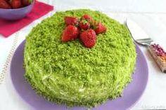 »Pastel Verde - Receta párr torta verde la Misya