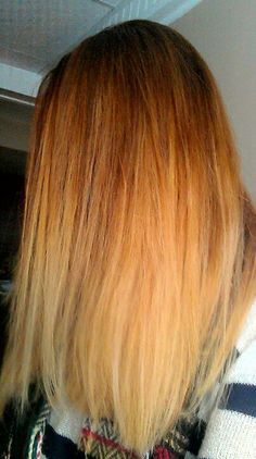 Copper to blonde ombre hair my next hair color in Oct Blonde Ombre, Ombre Hair, Beauty Magic, Hair Beauty, Summer Hairstyles, Pretty Hairstyles, Copper Ombre, Cut My Hair, Hair Designs