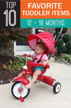 Top 10 Favorite Toddler Items for 12 - 18 months   spotofteadesigns.com