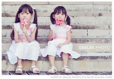 Mom did such a great job at styling her girls for this shoot!  #lifestyle