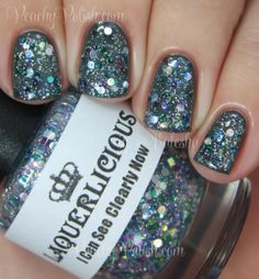 "Laquerlicious ""I Can See Clearly Now"" 