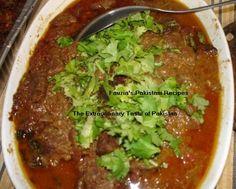 Bhuna Gosht Recipe - Pakistani Main Course Mutton/Beef/Lamb Dish - Fauzia's Pakistani Recipes - The Extraordinary Taste Of Pakistan