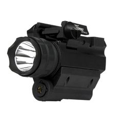 Nebo 6110-RM190LSR iProTec Elite High-Powered Firearm Light with Laser, Black, Left/Right * Remarkable product available now. : Camping gadgets