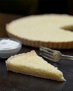 Buttermilk pie with whipped honey creme fraiche Honey Dessert, Dessert Bread, Delicious Desserts, Dessert Recipes, Yummy Food, Buttermilk Pie, Foods To Eat, Yummy Eats, Love Food