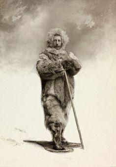 portrait de Roald Amundsen en 1909 à Oslo