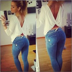 Obsessed with #freddy #wr.up #jeans !!! Finally - pants made for WOMEN