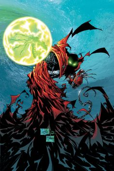 Spawn by Todd McFarlane & Greg Capullo Comic Book Characters, Comic Character, Comic Books Art, Spawn Comics, Marvel Dc Comics, Image Comics, Greg Capullo, Comic Drawing, Animation