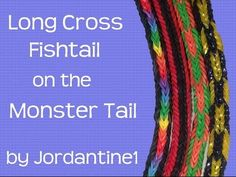 This is an instructional video showing how to make the MIni Fishtail Crossover Bracelet using the new Monster Tail loom. Crazy Loom Bracelets, Loom Band Bracelets, Loom Bracelet Patterns, Rubber Band Bracelet, Rainbow Loom Bracelets, Rainbow Loom Tutorials, Rainbow Loom Patterns, Rainbow Loom Creations, Loom Bands Instructions
