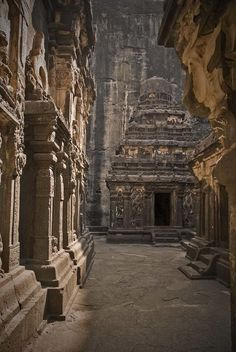 Magnificent Cave Temple Carved out of a Single Rock
