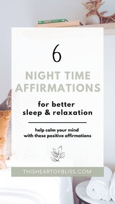 Are your thoughts keeping you up at night? Improve your sleep and relaxation with these 6 night time affirmations. Sleep Affirmations, Relaxation, Stress Relief, Quotes, Wellness Hope Quotes, All Quotes, Quotes To Live By, Morning Affirmations, Positive Affirmations, Relief Quotes, Sleep Relaxation, Abundance Quotes, Wellness Quotes