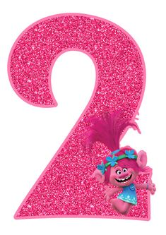 Trolls Party, Trolls Birthday Party, 2nd Birthday Parties, Girl Birthday, Baby Unicorn, Cute Unicorn, Poppy Coloring Page, Celebration Background