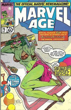 Marvel Age #76 - John Byrne