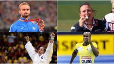 Quedan muy pocos días para que Río 2016 sea una realidad, el momento en el que por fin comenzarán unos... Usain Bolt, Rugby 7, Olympic Medals, World Championship, Champs, Athlete, Countries, Sports, Olympic Games