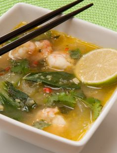 Pho-style soup - a fragrant noodle soup rich in #fibre, #vitamins, #minerals and #glutenfree
