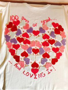 Busy Teacher Mommy : 100 Days of School Shirt