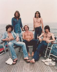 The Eagles (1974-75): Don Henley, Don Felder, Bernie Leadon, Glenn Frey, Randy Meisner.