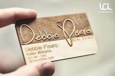 A very popular product of our is turning your signature into a custom and creative laser engraved business card. http://lasercuttinglab.com