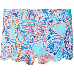 Lilly Pulitzer Kids Little Buttercup Shorts (Toddler/Little Kids/Big... ($38) ❤ liked on Polyvore featuring shorts and bottoms